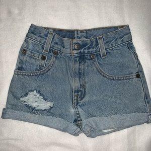 Levi's | Distressed Cutoff Shorts
